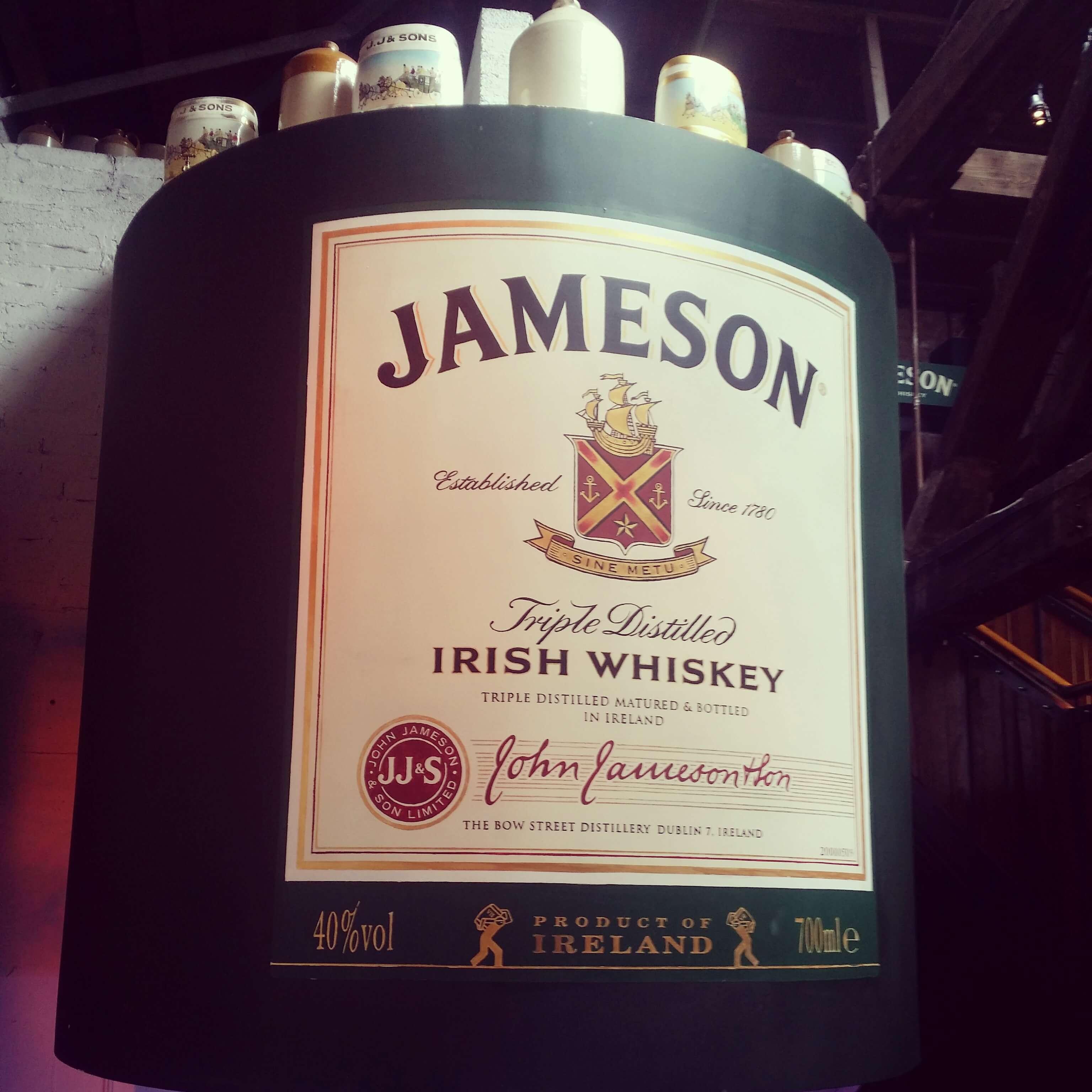 Jameson whiskey christmas gift set