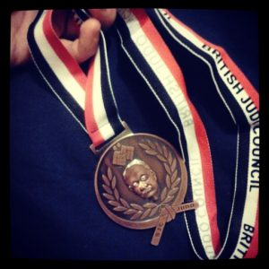 Bronze, British Judo Council National competition. I've been lazy lately though. I need to get back into it.