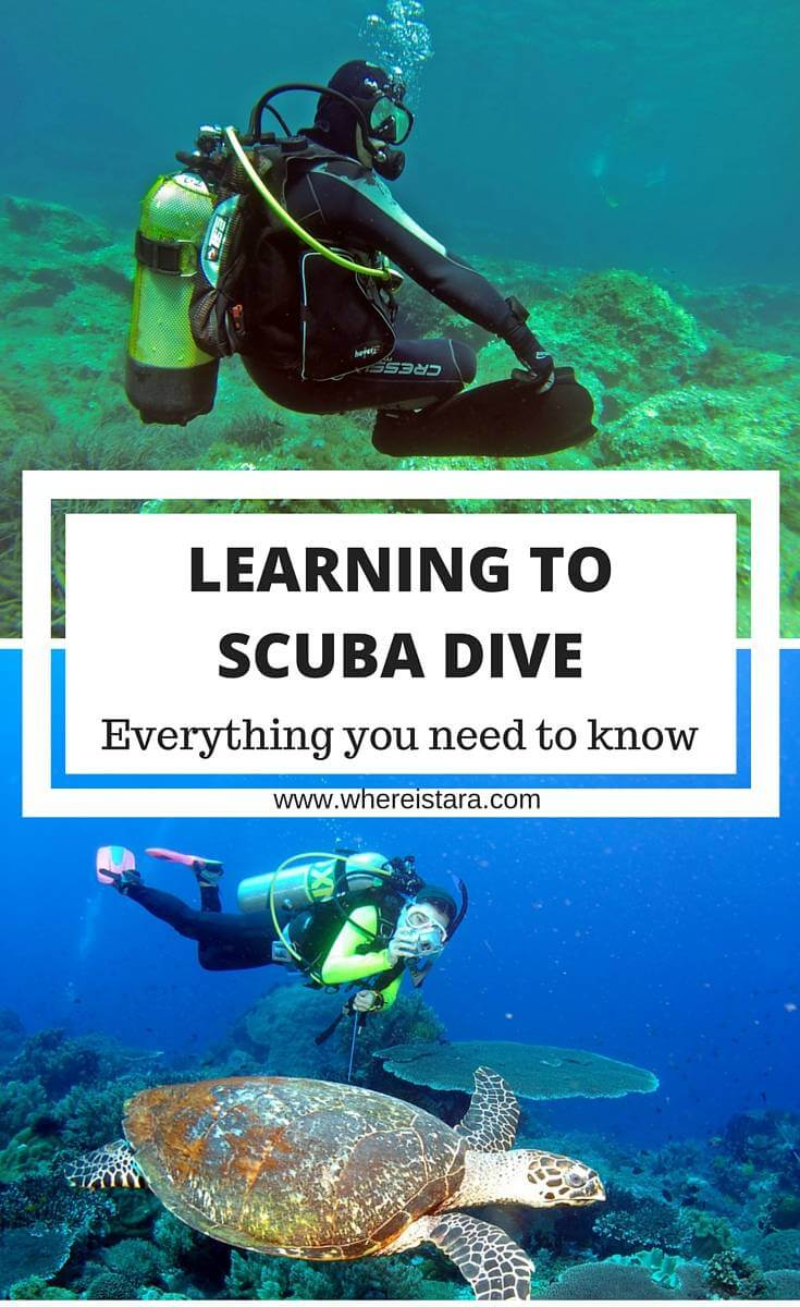 learning to scuba dive open water course where is tara povey Irish travel blogger
