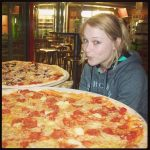 Giant AMAZING pizza!