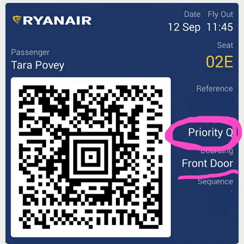 tips for flying Ryanair tips and tricks where is tara