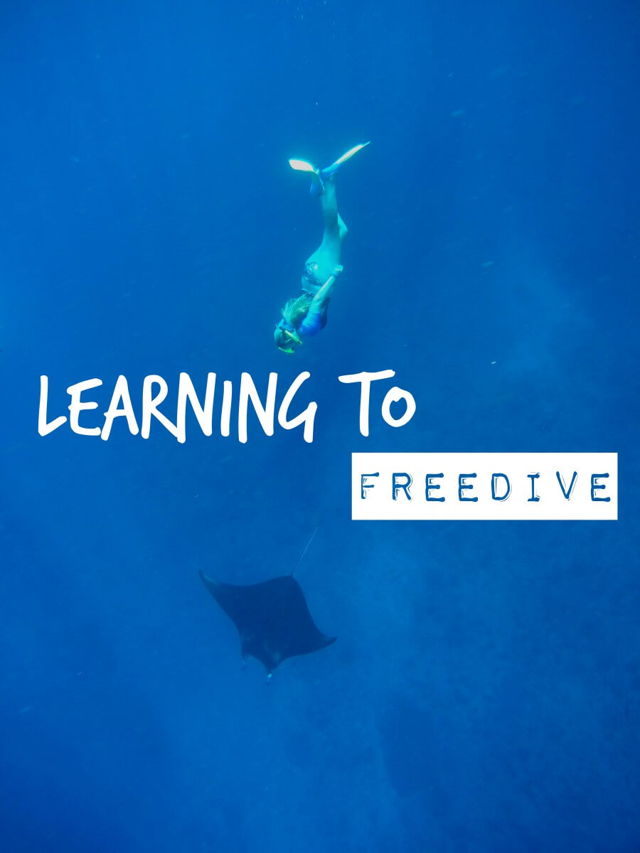learning to free dive