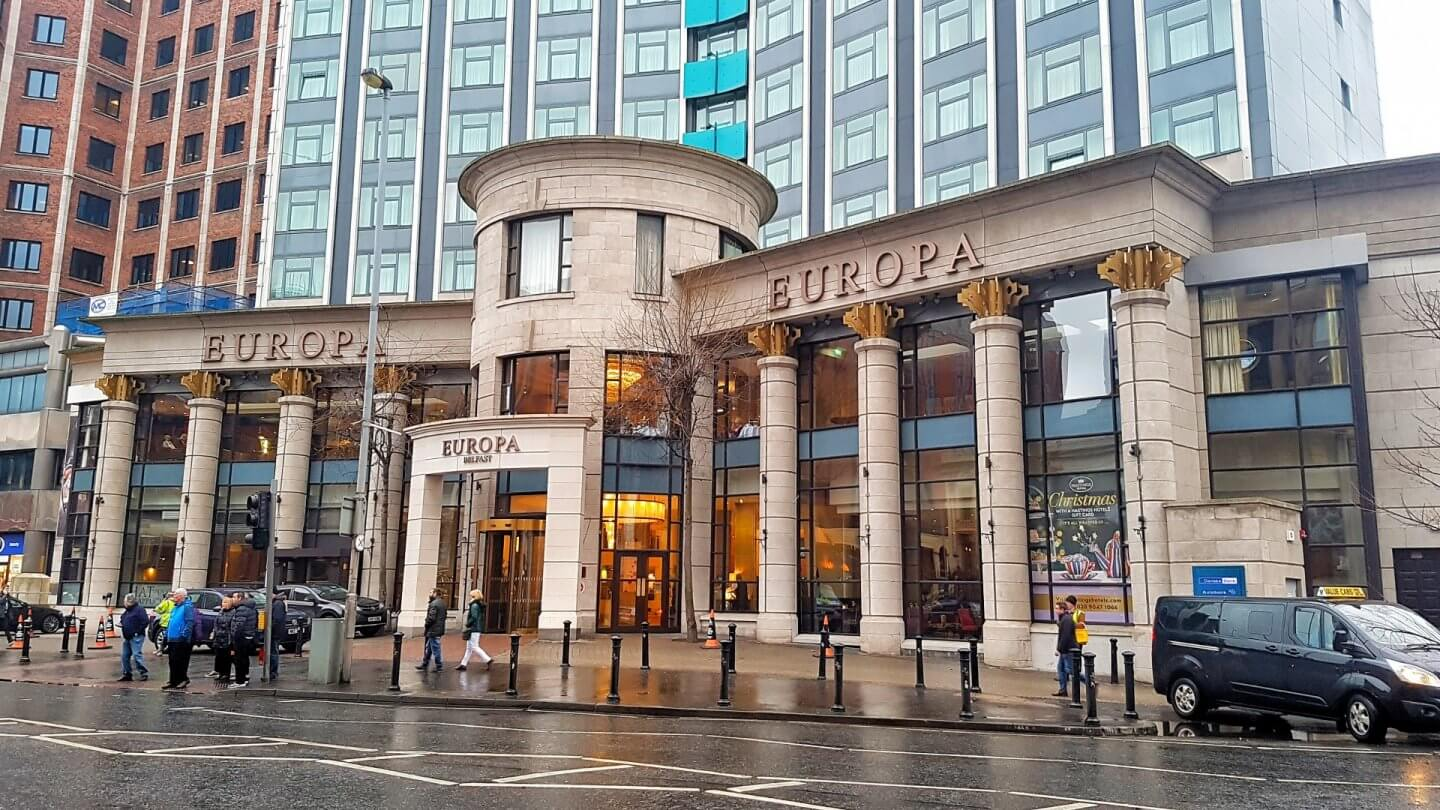 the europa hotel belfast where is tara povey top irish travel blog
