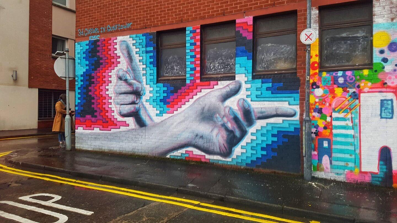 48 hours in belfast street art
