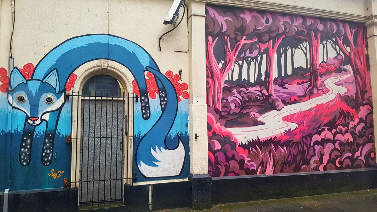48 hours in belfast things to do art