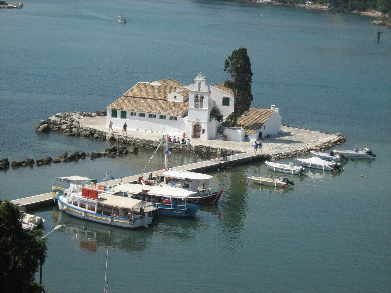 corfu which greek island where is tara