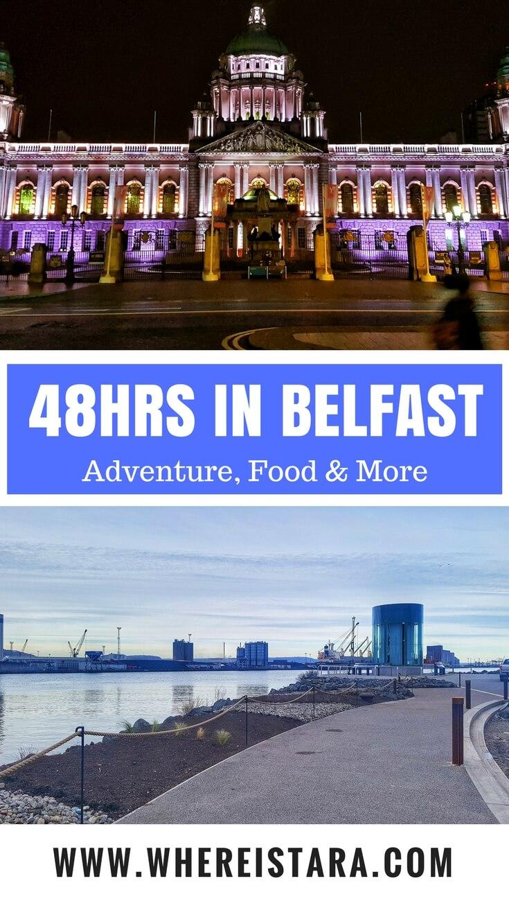 48 hours in belfast where is tara povey