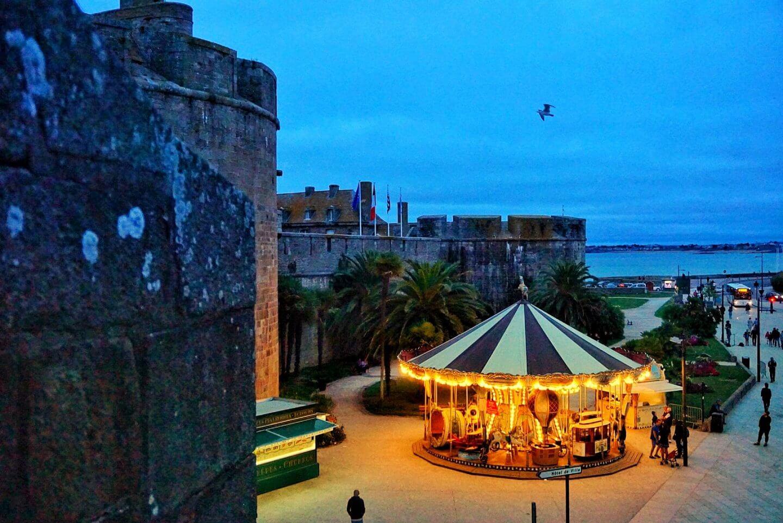 Saint Malo France city walls Brittany