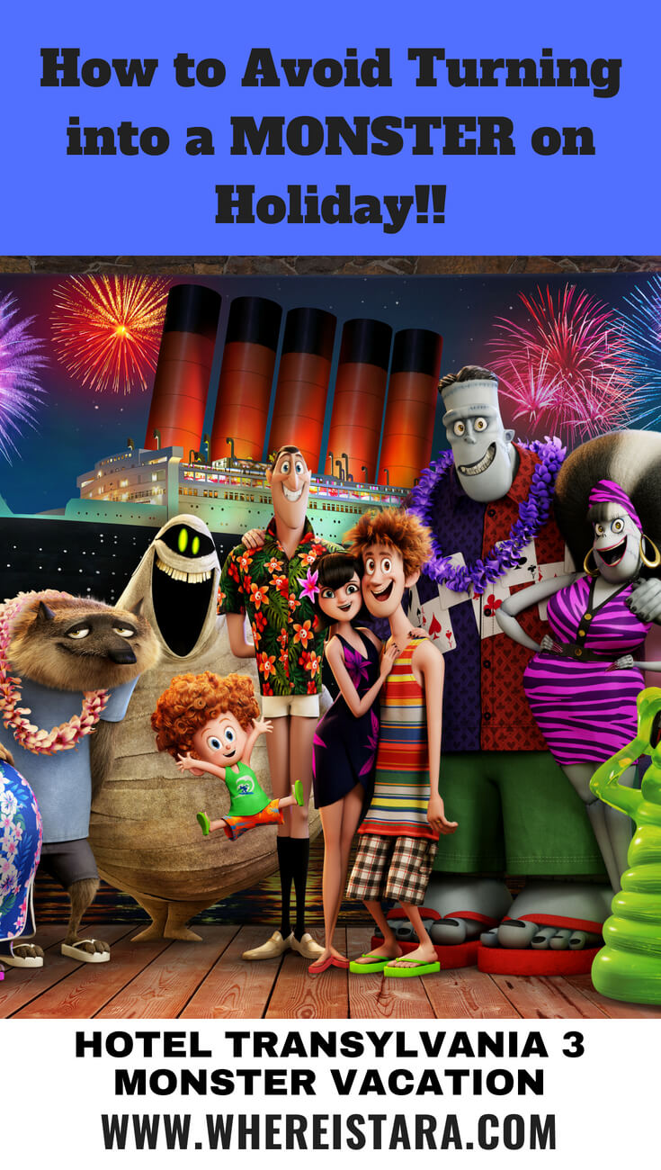 How to avoid turning into a monster on holiday hotel Transylvania 3