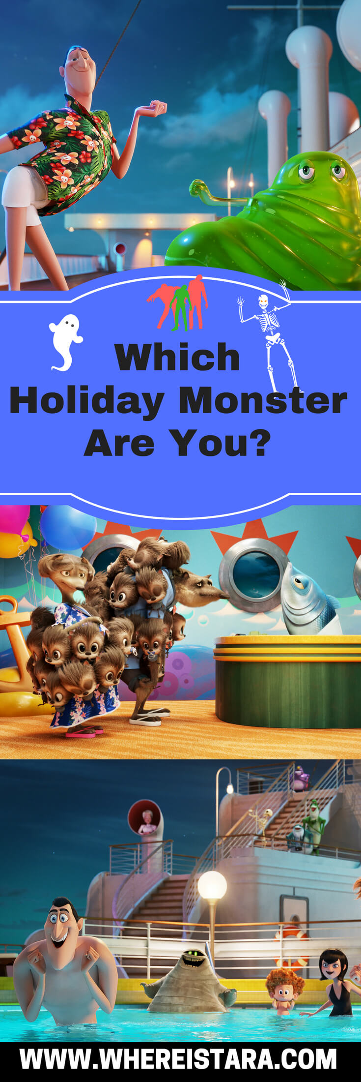 which holiday monster are you hotel transylvania 3