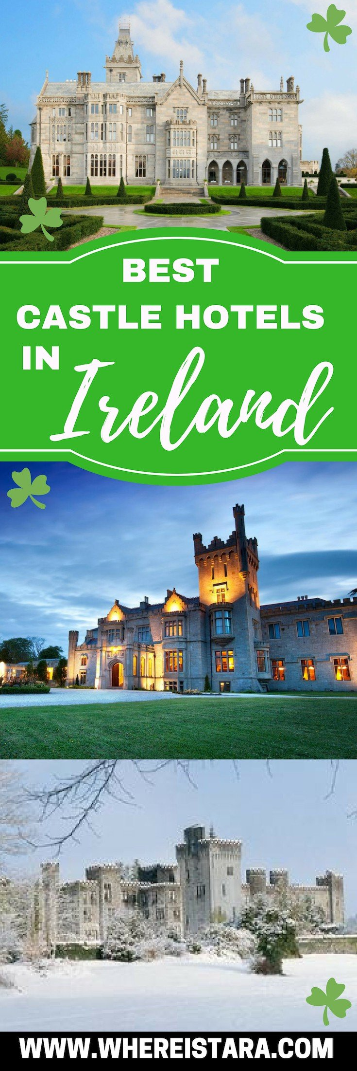 Best Castle Hotels in Ireland PIN